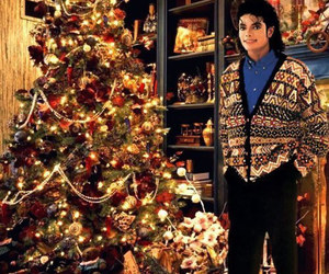 michael jackson, christmas, and king of pop image