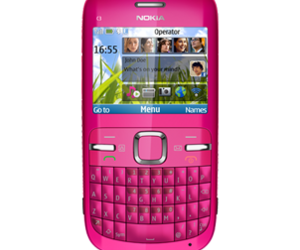 pink, nokia, and nokia c3 image