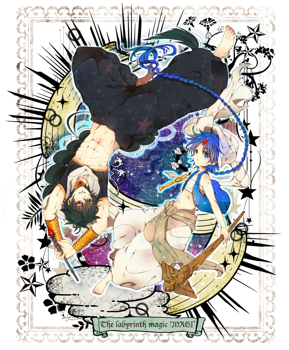 28 Images About Magi The Labyrinth Of Magic On We Heart It See