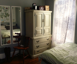 bedroom, curtain, and rooms image