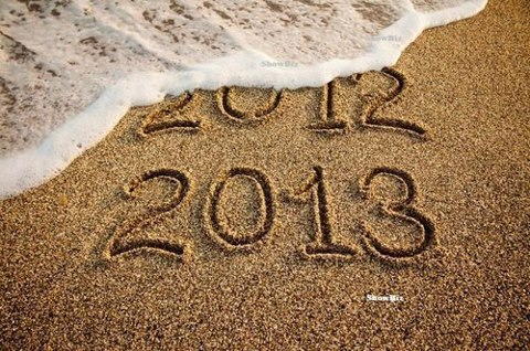 2013, 2012, and new year image