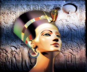 egypt and girls image