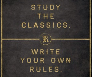 quote, rules, and classics image