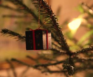 ball, by, and christmas tree image