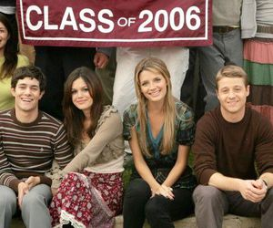 the oc, marissa, and friends image