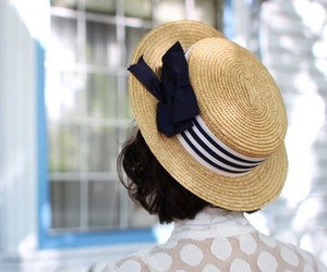cute, hat, and pretty image