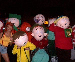 cartman, Halloween, and misty image