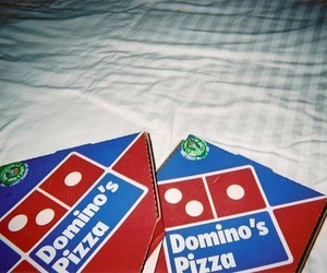 pizza, domino, and food image