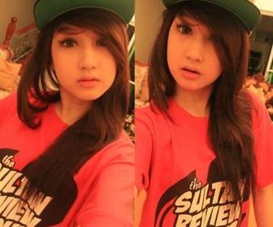 cute girl, obey, and swagger image