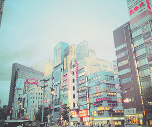 japan, city, and photography image