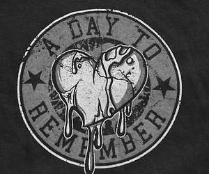 a day to remember, adtr, and heart image