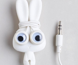 bunny, organise, and cord image