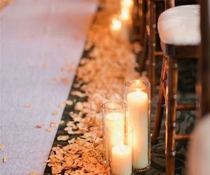 wedding and candle image