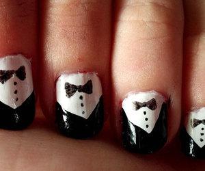 nail art, nails, and new year image