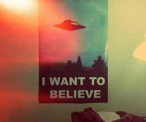 aliens, believe, and cool image