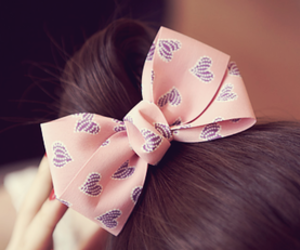 hair, cute, and pink image