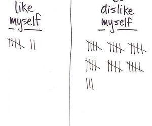 like, dislike, and myself image