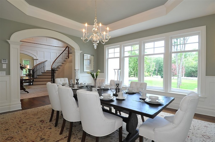 dining rooms - Visual Comfort Lighting Small Faceted George ...
