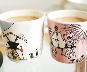 coffee, finland, and moomin image