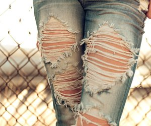 jeans and rip image