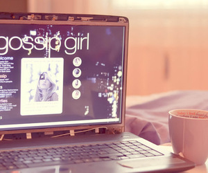 gossip girl and coffee image