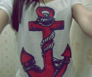 anchor, girl, and picture image
