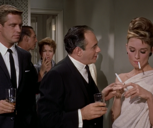 audrey hepburn, Breakfast at Tiffany's, and George Peppard image