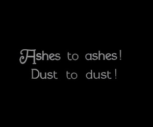 ashes and dust image