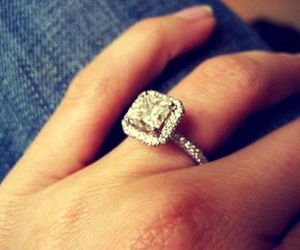 bling, ring, and diamond image