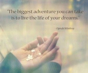 adventure, Dream, and hands image