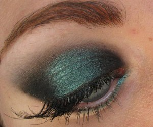 mac, teal, and make up image