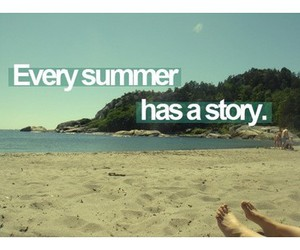 summer, beach, and story image