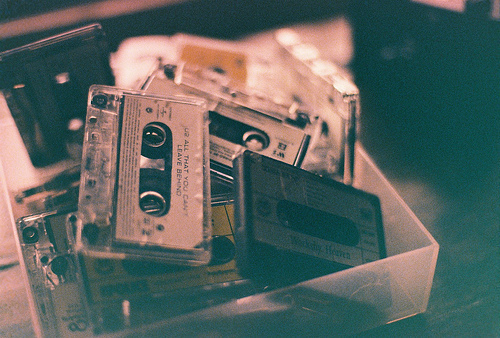 tapes, tape, and vintage image