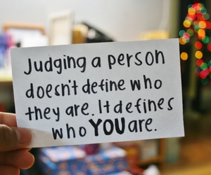 quote, true, and judge image