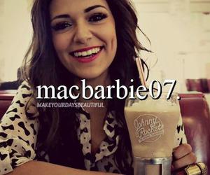 macbarbie07, makeup, and youtube image