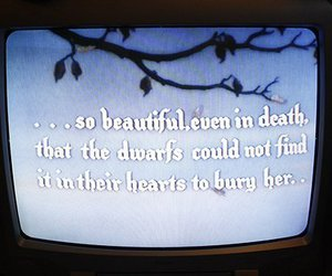 snow white and quote image