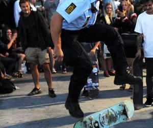 skate, police, and cops image