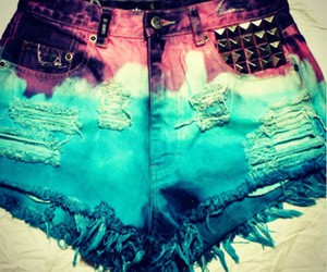 shorts and blue image
