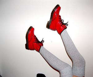 shoes, red, and boots image