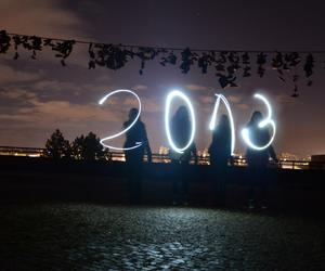 boots, happy new year, and lights image
