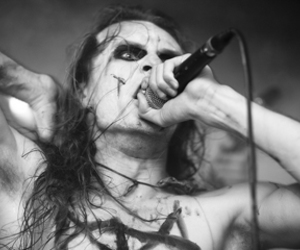 black and white, Black Metal, and corpse paint image