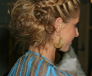 braid, classy, and hairstyles image