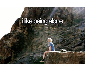 alone, who i am, and girl image