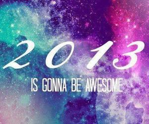 2013, awesome, and new year image