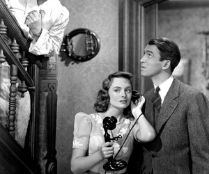james stewart and its a wonderful life image