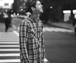 boy, tattoo, and t.mills image