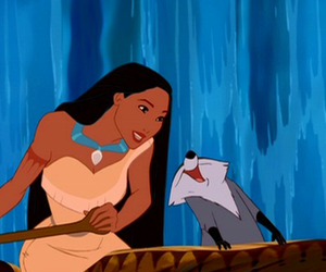 disney, meeko, and pocahontas image