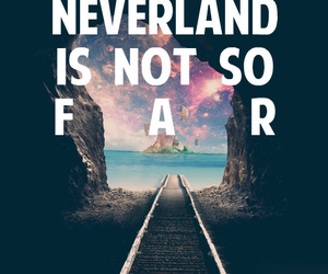 neverland, quotes, and peter pan image