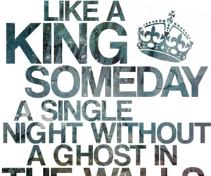 king for a day, pierce the veil, and song image