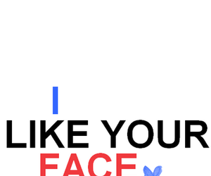 face, like, and quote image